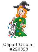 Witch Clipart #220828 by visekart