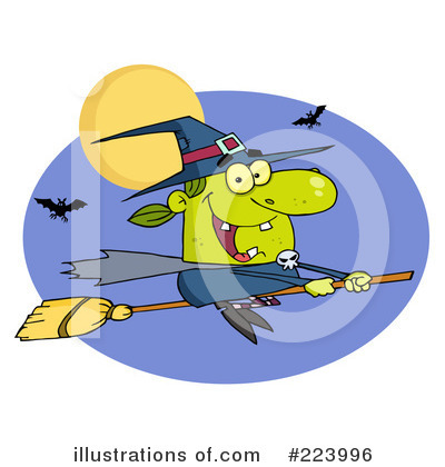 Witch Clipart #223996 by Hit Toon