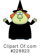 Witch Clipart #228823 by Cory Thoman