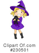 Royalty-Free (RF) Witch Clipart Illustration #230501