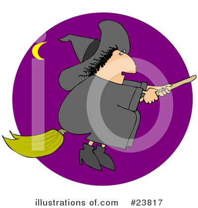 Witch Clipart #23817 by djart