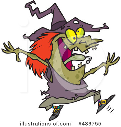 Witch Clipart #436755 by toonaday