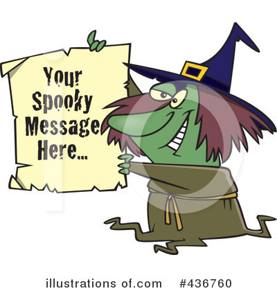 Witch Clipart #436760 by toonaday