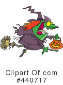 Witch Clipart #440717 by toonaday