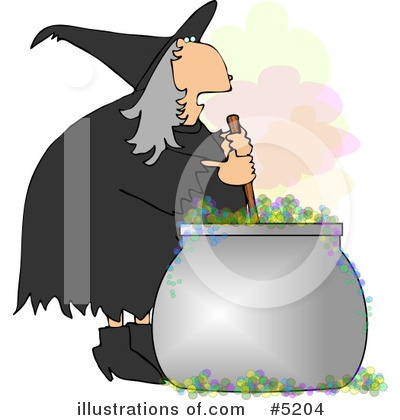 Witch Clipart #5204 by djart