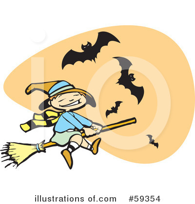 Witches Clipart #59354 by xunantunich