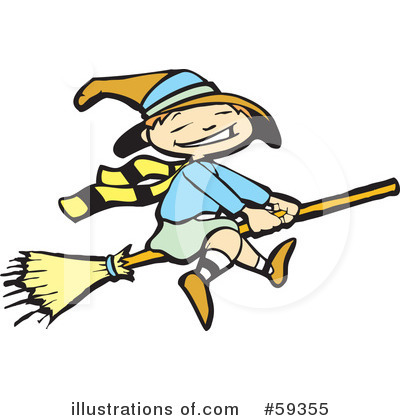 Witches Clipart #59355 by xunantunich