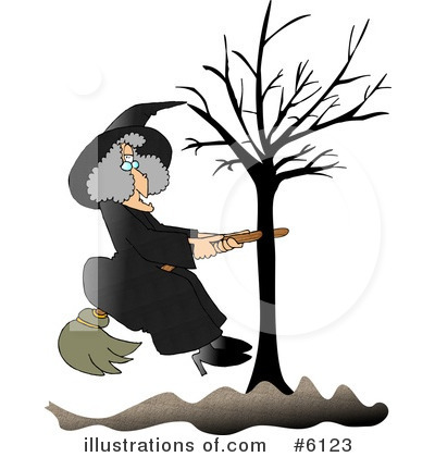 Witch Clipart #6123 by djart