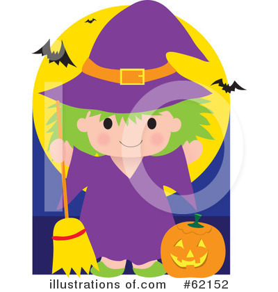 Witch Clipart #62152 by Maria Bell