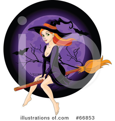 Witch Clipart #66853 by Pushkin