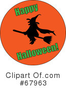 Witch Clipart #67963 by Pams Clipart