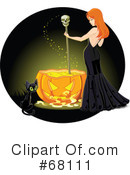 Witch Clipart #68111 by Pushkin