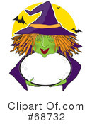 Royalty-Free (RF) Witch Clipart Illustration #68732