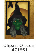 Witch Clipart #71851 by inkgraphics