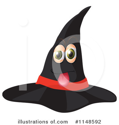 Witch Hat Clipart #1148592 by Graphics RF
