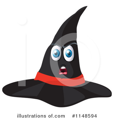 Witch Hat Clipart #1148594 by Graphics RF