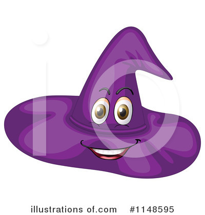 Witch Hat Clipart #1148595 by Graphics RF