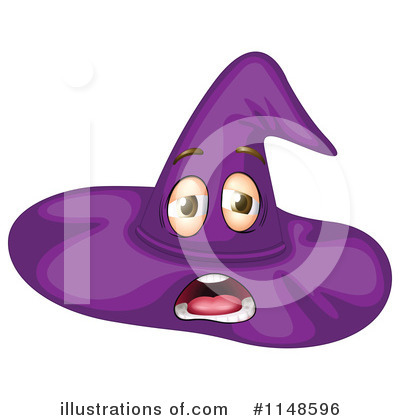 Witch Hat Clipart #1148596 by Graphics RF