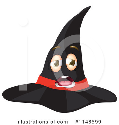 Witch Hat Clipart #1148599 by Graphics RF