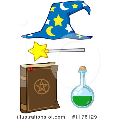 Wizard Clipart #1176129 by Hit Toon