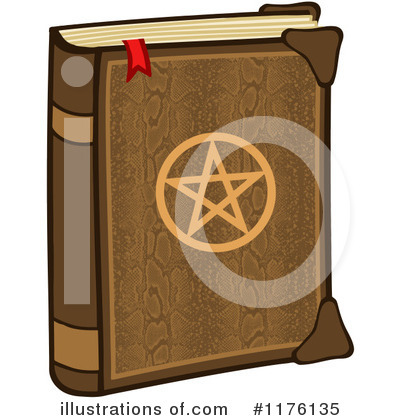 Spell Book Clipart #1176135 by Hit Toon