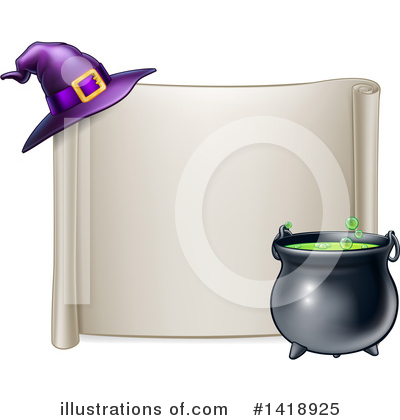 Witch Clipart #1418925 by AtStockIllustration