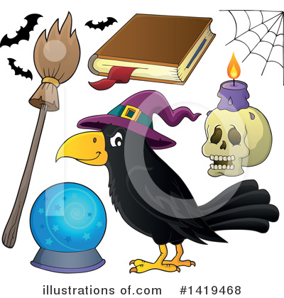 Spell Book Clipart #1419468 by visekart