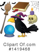 Witchcraft Clipart #1419468 by visekart