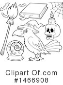 Witchcraft Clipart #1466908 by visekart