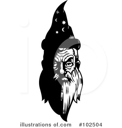 Wizard Clipart #102504 by Cory Thoman