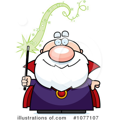 Wizard Clipart #1077107 by Cory Thoman