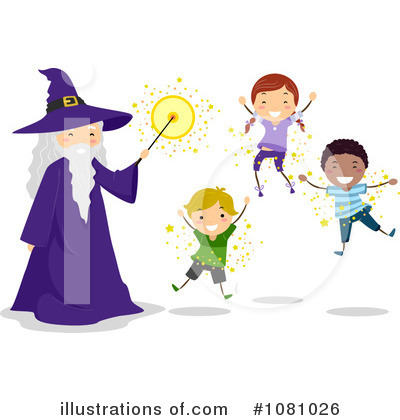 Wizard Clipart #1081026 by BNP Design Studio