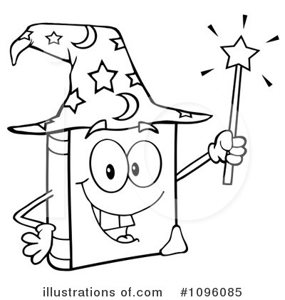 Wizard Clipart #1096085 by Hit Toon