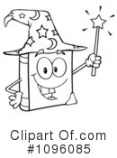 Royalty-Free (RF) Wizard Clipart Illustration #1096085