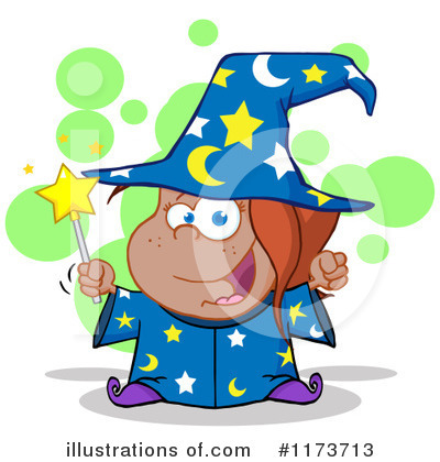 Wizard Clipart #1173713 by Hit Toon