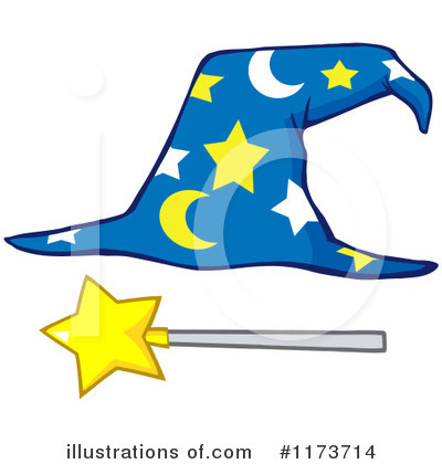 Wizard Clipart #1173714 by Hit Toon