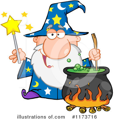 Wizard Clipart #1173716 by Hit Toon
