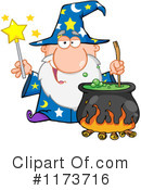 Royalty-Free (RF) Wizard Clipart Illustration #1173716