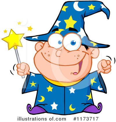 Wizard Clipart #1173717 by Hit Toon