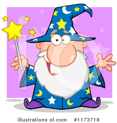 Wizard Clipart #1173718 by Hit Toon