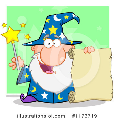 Wizard Clipart #1173719 by Hit Toon