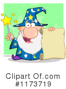 Royalty-Free (RF) Wizard Clipart Illustration #1173719