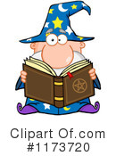 Royalty-Free (RF) Wizard Clipart Illustration #1173720