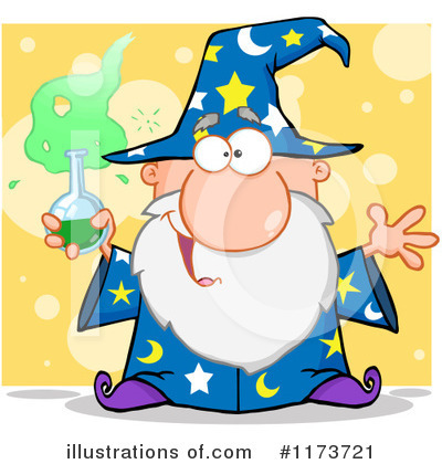 Wizard Clipart #1173721 by Hit Toon