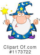 Royalty-Free (RF) Wizard Clipart Illustration #1173722