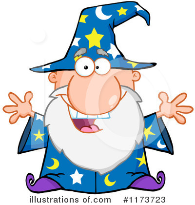 Wizard Clipart #1173723 by Hit Toon