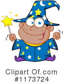 Royalty-Free (RF) Wizard Clipart Illustration #1173724