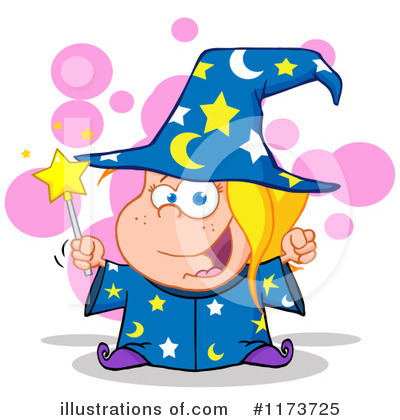 Wizard Clipart #1173725 by Hit Toon