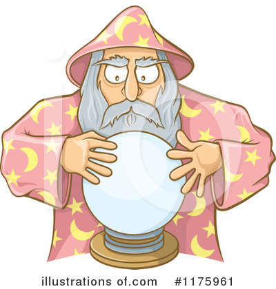 Royalty-Free (RF) Wizard Clipart Illustration by Any Vector - Stock Sample #1175961