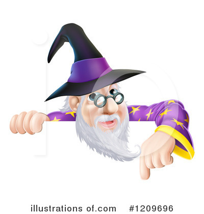 Wizard Clipart #1209696 by AtStockIllustration